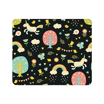OTM Prints Black Mouse Pad, Fairytale Land