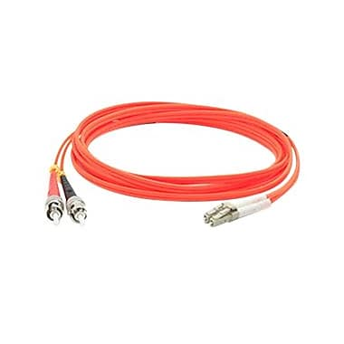 AddOn® ADD-ST-LC-10M6MMF 10 m MMF Duplex ST/LC Patch Cable, Orange