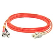 AddOn® ADD-ST-SC-15M6MMF 15 m MMF Duplex ST/SC Patch Cable, Orange