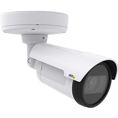 AXIS® P1405-LE Mk II Wired Outdoor Network Surveillance Camera, Fixed, White