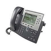 Cisco™ 7962G 6 Line Refurbished Unified IP Phone, Dark Gray/Silver (CP-7962G=-RF)