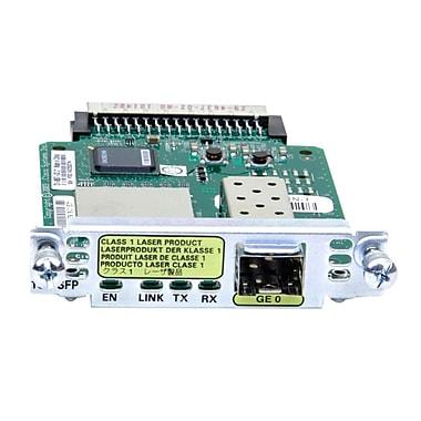 Cisco™ HWIC-1GE-SFP= Gigabit Ethernet WAN Interface Card with One SFP Slot for 1921/1921/4-Pair/1921 ADSL2+