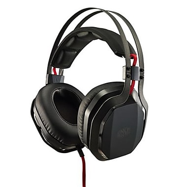 Cooler Master® SGH-4700-KKTA1 MasterPulse Over-the-Head Gaming Headphones with Microphone, Black