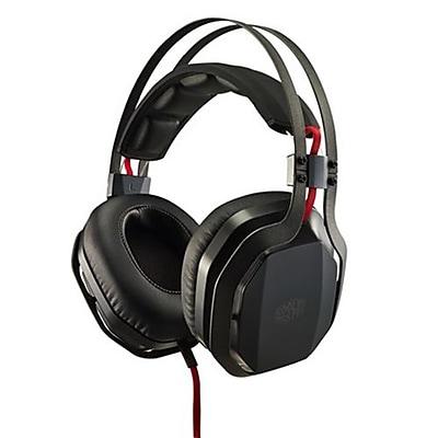 Cooler Master® SGH-4700-KKTA1 MasterPulse Over-the-Head Gaming Headphones with Microphone, Black