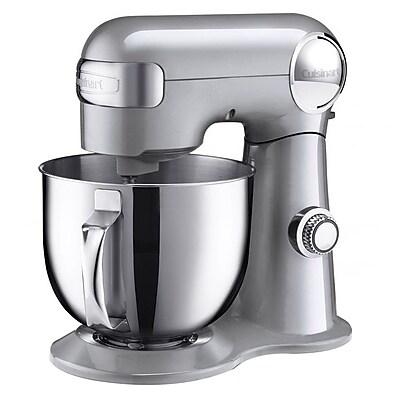 Cuisinart® Precision Master™ 5.5 Quart Stand Mixer, Brushed Chrome (SM-50)