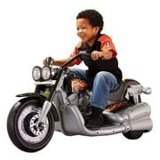Fisher-Price® Power Wheels® Harley-Davidson® Cruiser Motorcycle, Metallic/Black, 3 - 7 Years (CLG78)