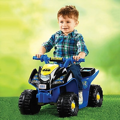 Fisher-Price Power Wheels Batman Lil' Quad Vehicle,