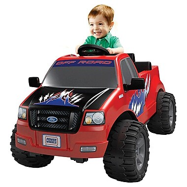 Fisher-Price® Power Wheels® Ford Lil F-150 Truck, Red, 2 - 6 Years (DMK75)