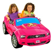 Fisher-Price® Power Wheels® Barbie™ Ford Mustang Car, Pink, 3 - 7 Years (P8812)