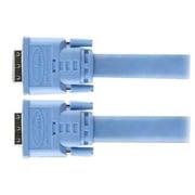 Gefen® CAB-DVIC-DLX-100MM 100' Dual Link DVI Male/Male Video Cable, Blue