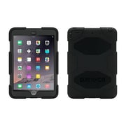 Griffin GB35918-3 Survivor All-Terrain Silicone/Polycarbonate Protective Case for iPad mini 1/2/3 Tablet, Black