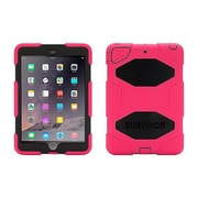 Griffin GB35920-3 Survivor All-Terrain Silicone/Polycarbonate Protective Case for iPad mini 1/2/3 Tablet, Pink/Black