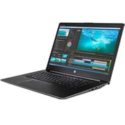 "HP® ZBook Studio G3 15.6"" Mobile Workstation, LCD, Intel i5-6300HQ 2.6 GHz, 128GB, 8GB, Win 7 Professional, Space Silver"