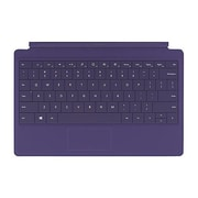 Microsoft® N7W-00003 Surface Type Cover 2 Keyboard/Cover Case for PC, Purple