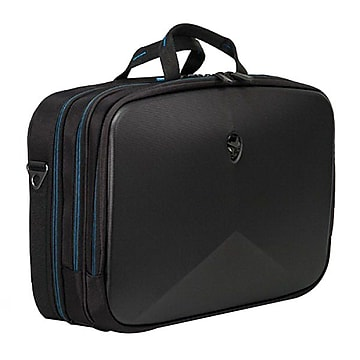 Mobile Edge Laptop Breifcase, Black with Teal Accent Nylon (AWV13BC-2.0)