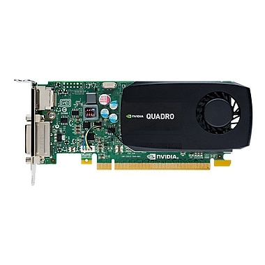 PNY® VCQK420-2GB-PB NVIDIA Quadro K420 128-Bit SDRAM PCIe 2.0 x16 2GB Graphic Card