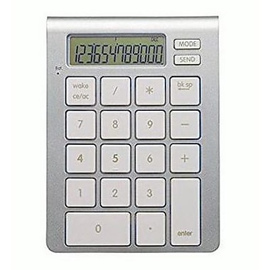 SMK-Link Bluetooth Calculator Keypad, Silver (VP6275)