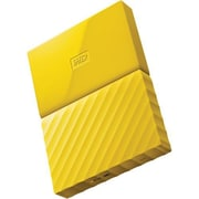 WD® My Passport WDBYNN0010BYL-WESN 1TB USB 3.0 External Hard Drive, Yellow
