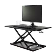 Luxor (LVLUP32-BK) Level Up 32 Pneumatic Adjustable Desktop Desk, Black