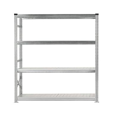Metalsistem HDO 4 Level Starter Shelving Unit, Grey