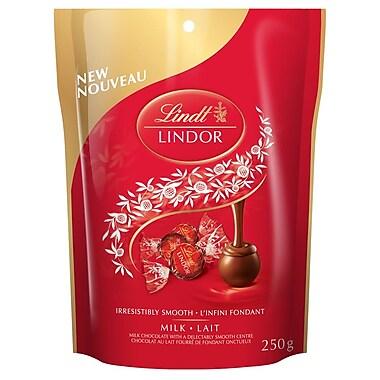 Lindt – Sachet de chocolats au lait Lindor, 250 g