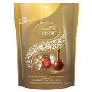 Lindt Lindor Assorted Pouch, 250g