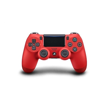 Sony – Manette de jeu sans fil DualShock 4 pour PlayStation 4, Magma Red