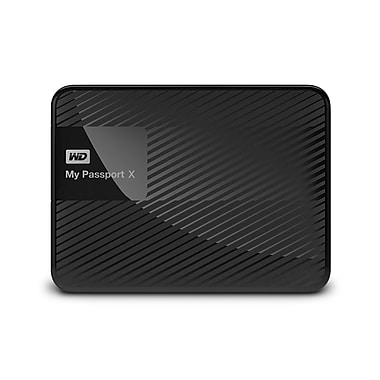 WD 3 TB My Passport X for Xbox One Portable External Hard Drive (WDBCRM0030BBK)