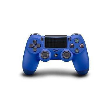 Sony - Contrôleur sans fil DualShock 4 PlayStation 4, bleu vague