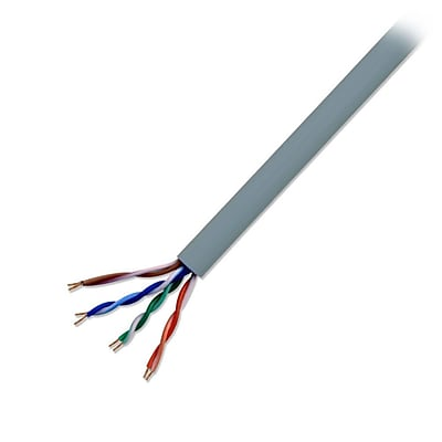 Electronic Master CAT5211000G 1000 ft. Cat5e Network Cable, Gray