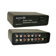 Digiwave 4 Way AV Distributor with Amplifier (DGSCA101)