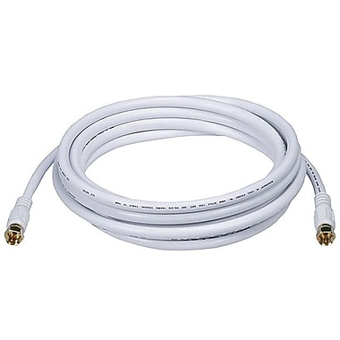Digiwave RG621012WF 12 ft. RG6 Coaxial Cable, Black