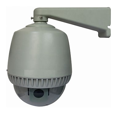 SeqCam SEQ4502 Wired Indoor/Outdoor Dome Camera 480 TVL