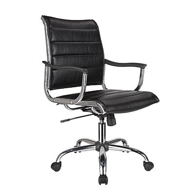 TygerClaw Modern Professional Mid Back Office Chair (ECJ5202)