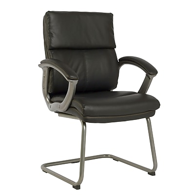 TygerClaw Modern High Back Leather Office Chair White (TYFC2210)