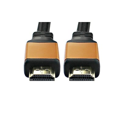 TygerWire TYHD8325 25 ft. High Speed HDMI Cable with Ethernet, Black