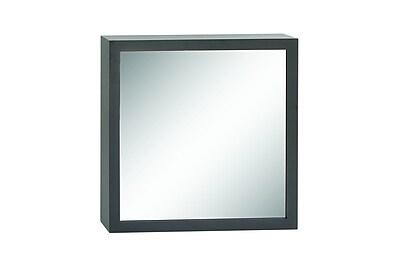 Cole & Grey Wood Wall Mirror; 33''