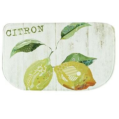 Bacova Guild Citron et Poire Memory Foam Kitchen Mat