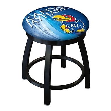 Holland Bar Stool NCAA Swivel Bar Stool; Kansas Jayhawks