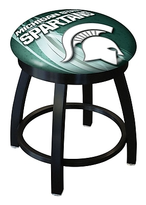 Holland Bar Stool NCAA Swivel Bar Stool; Michigan State Spartans WYF078279775267