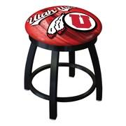 Holland Bar Stool NCAA Swivel Bar Stool; Utah Utes