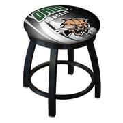 Holland Bar Stool NCAA Swivel Bar Stool; Ohio Bobcats