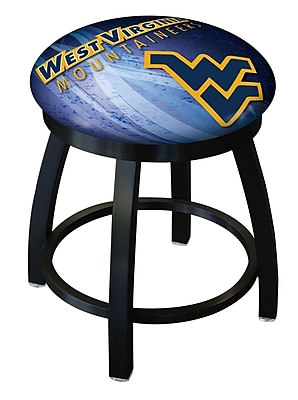 Holland Bar Stool NCAA Swivel Bar Stool; West Virginia Mountaineers WYF078279775173