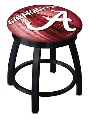 Holland Bar Stool NCAA Swivel Bar Stool; Alabama Crimson Tide WYF078279775197