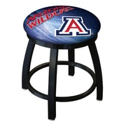 Holland Bar Stool NCAA Swivel Bar Stool; Arizona Wildcats