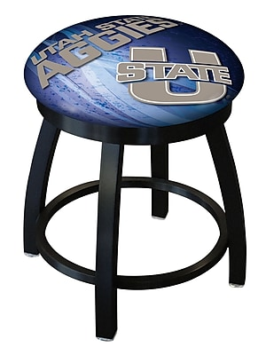 Holland Bar Stool NCAA Swivel Bar Stool; Utah State Aggies WYF078279775201
