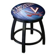 Holland Bar Stool NCAA Swivel Bar Stool; Virginia Cavaliers
