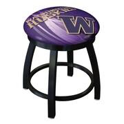 Holland Bar Stool NCAA Swivel Bar Stool; Washington Huskies