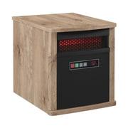 Duraflame 5,200 BTU Portable Electric Infrared Cabinet Heater; Antique Pine