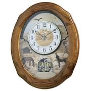 Rhythm Joyful Prairie Wall Clock